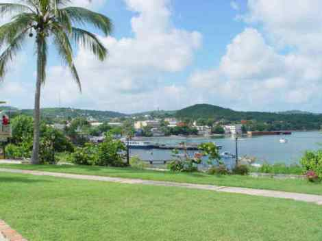 Vieques Harbor in Isabel Segunda
